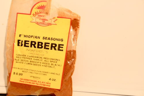 Berbere from Kalustyan's in NY