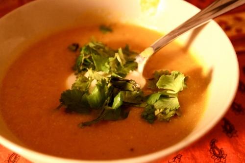 curried pumpkin soup